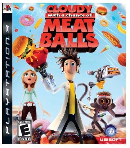 Cloudy with a chance of meatballs ubisoft pc games