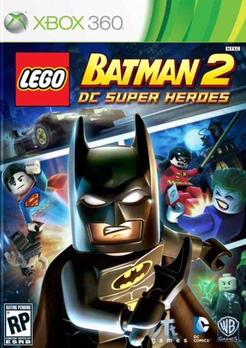 Warner Bros Lego Batman 2 DC Super Heroes Xbox 360 Game