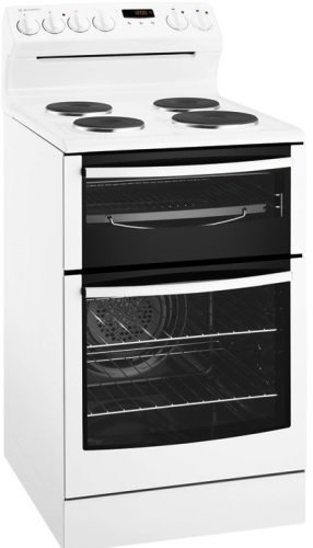 Image of 54cm Freestanding Westinghouse Electric Upright Cooker WLE537WA