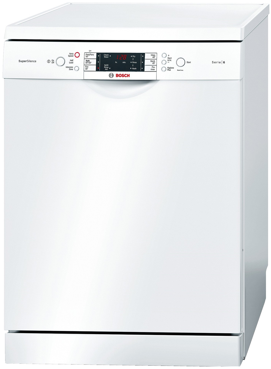 Image of Bosch SMS68M32AU Freestanding Dishwasher (White)