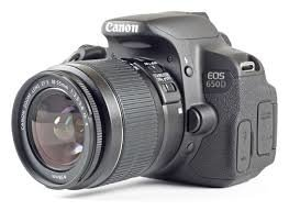 Image of Canon EOS 650D DSLR Camera (REFURB) - Body Only