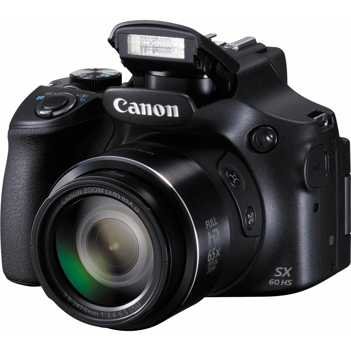 Image of Canon PowerShot SX60 Digital Compact Camera