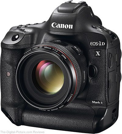 Image of Canon EOS 1D-X Mark II Digital SLR Camera Body - Demo Stock Only 1 qty Available