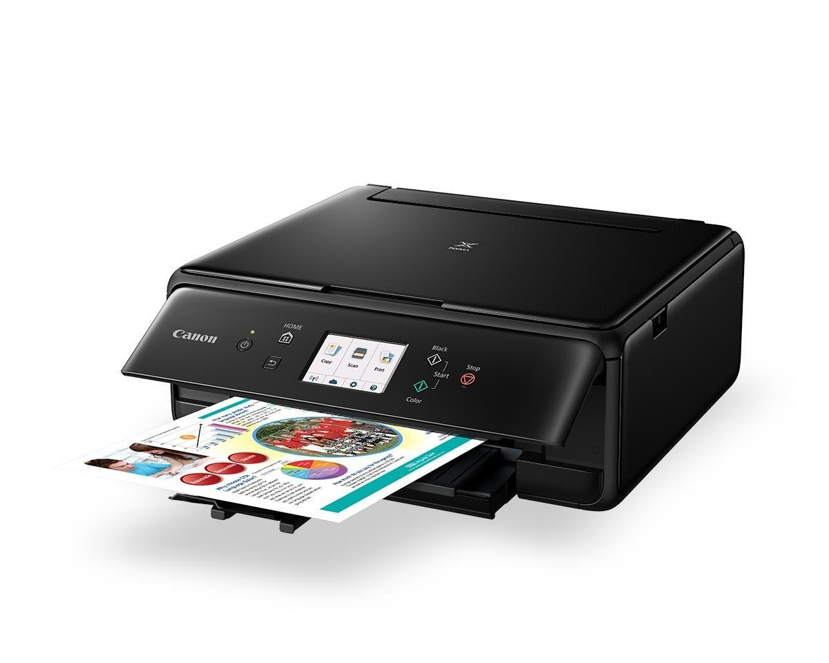 how to connect wireless printer canon ts6060