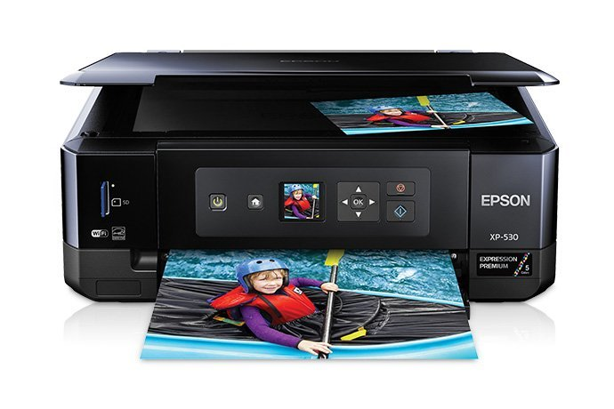 Image of Epson Expression Premium Photo XP-530 Small-in-One Printer, Print / Copy / Scan / Photo /