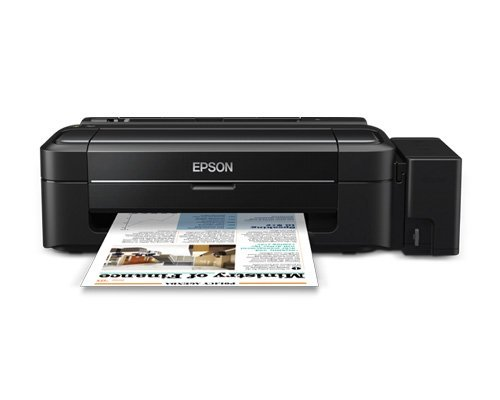 Image of Epson L310 Single Function USB Refillable Ink Tank Printer 5760x1440 w/T664 Inks