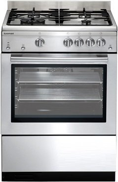 Image of Euromaid - 60cm Upight Cooker, Stainless Steel