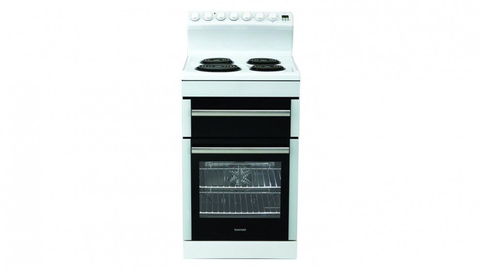 Image of Euromaid 54cm Electric Freestanding Cooker - White