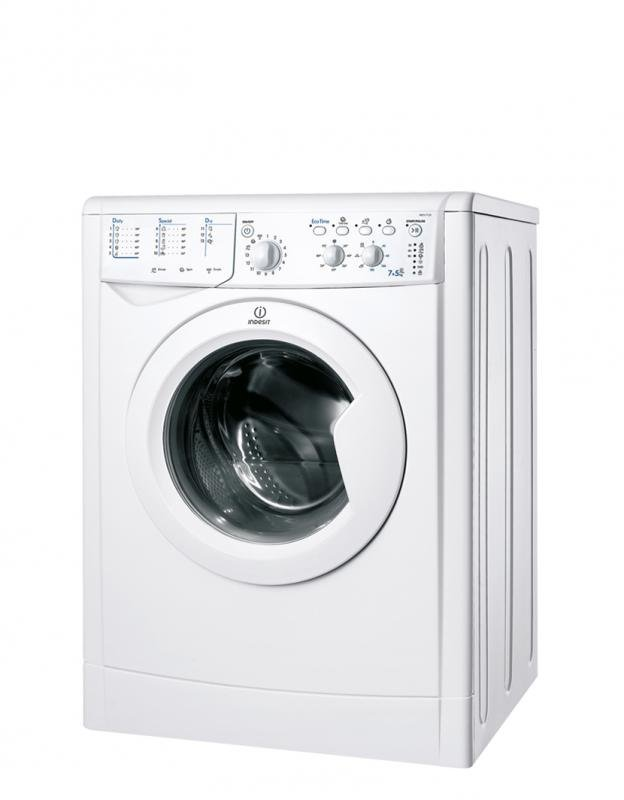 Image of Indesit IWDC7125 7.5kg Wash 4.5kg Dry WASHER DRYER