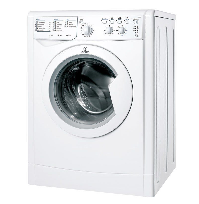 Image of Indesit IWDC7125BAUS1 Washer Dryer Combo