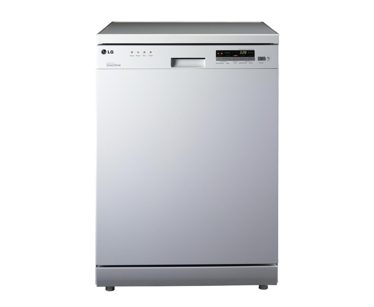 Image of LD1481W4 LG 14 PLACE WHITE DISHWASHER WITH INVERTER DIRECT DRIVE