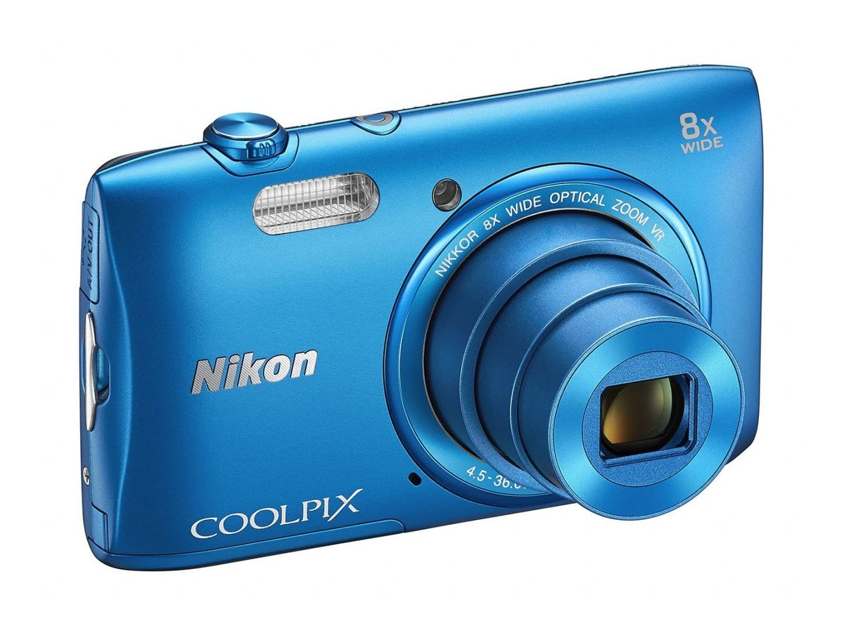 Image of *Nikon Coolpix S3600 Digital Camera - Red