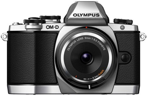 Image of Olympus E-M10 Body Only Silver - Demo Stock Only 1 qty Available