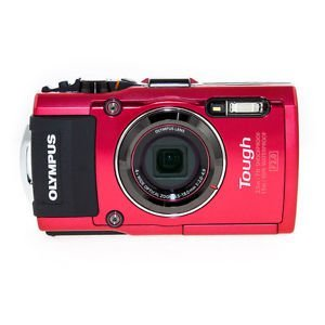 Image of Olympus TG-4 Black Digital Compact Camera