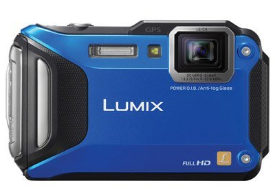Image of LUMIX DMC-FT6 Compact Digital Camera (Orange)