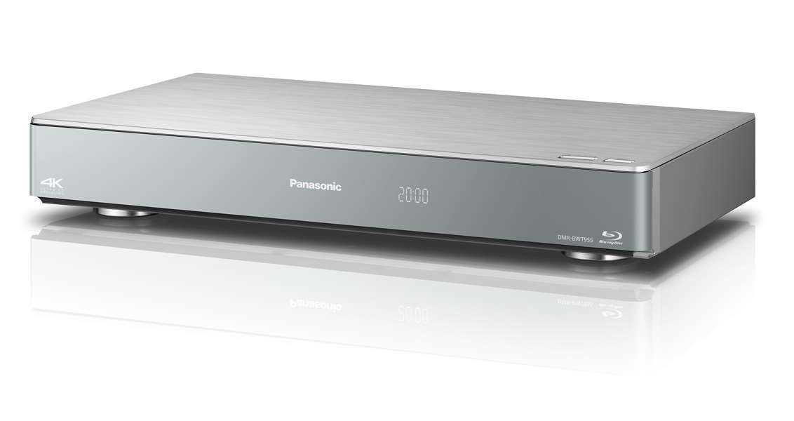 Image of Panasonic DMR-BWT955GL Smart Network 3D Blu-ray Disc™ DVD Recorder with Triple HD Tuner