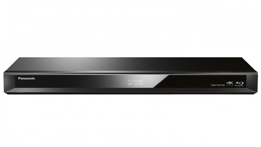 Image of Panasonic DMR-PWT560GL Smart Network 3D Blu-ray Disc™ DVD Disc Player and HDD Recorder