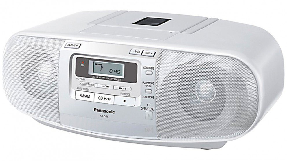 best panasonic rxd45 portable cd player prices in australia getprice. Black Bedroom Furniture Sets. Home Design Ideas