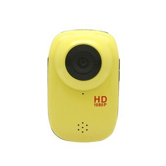 Image of 5MP CMOS 1080P HD 140 Degree 30m Waterproof Sports Cycling Diving DVR w/ HDMI TF - Gold
