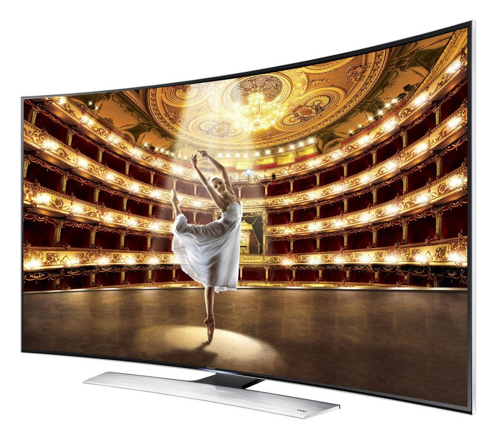 """Image of Samsung UA65JU7500 65"""" 165cm 4K Ultra HD Curved Smart 3D LED LCD TV With Twin Tuner"""