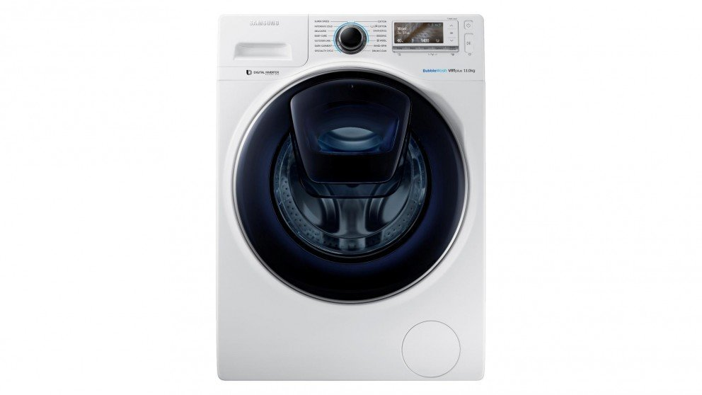 Image of SAMSUNG 11KG Samsung AddWash Front Load Washing Machine WW11K8412OW