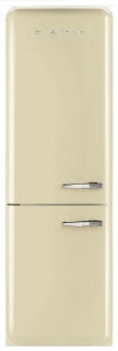Image of Smeg FAB32LCRNA1 326L Bottom Mount Fridge
