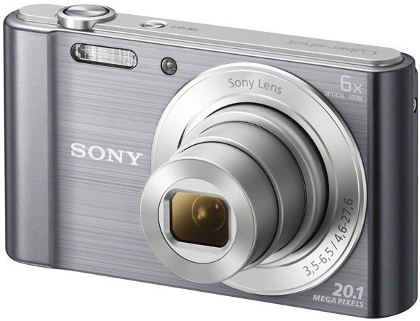 Image of 20.1 Mega Pixel W Series 6x Optical Zoom Cyber-shot (Silver)
