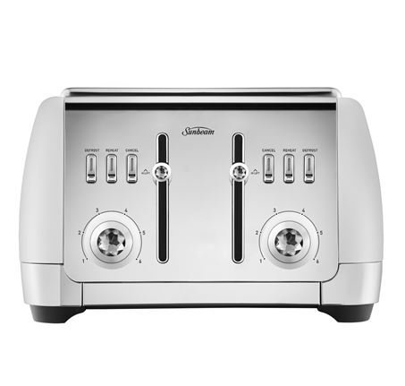 Sunbeam London Collection 4 Slice Toaster (White)