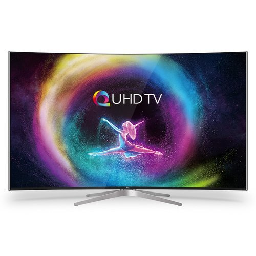 Image of TCL 55 INCH TCL 55″ C1 Curved QUHD 4K Smart TV 55C1CUS