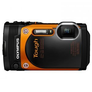 Image of Olympus Stylus Tough TG-860 Digital Camera (Orange)