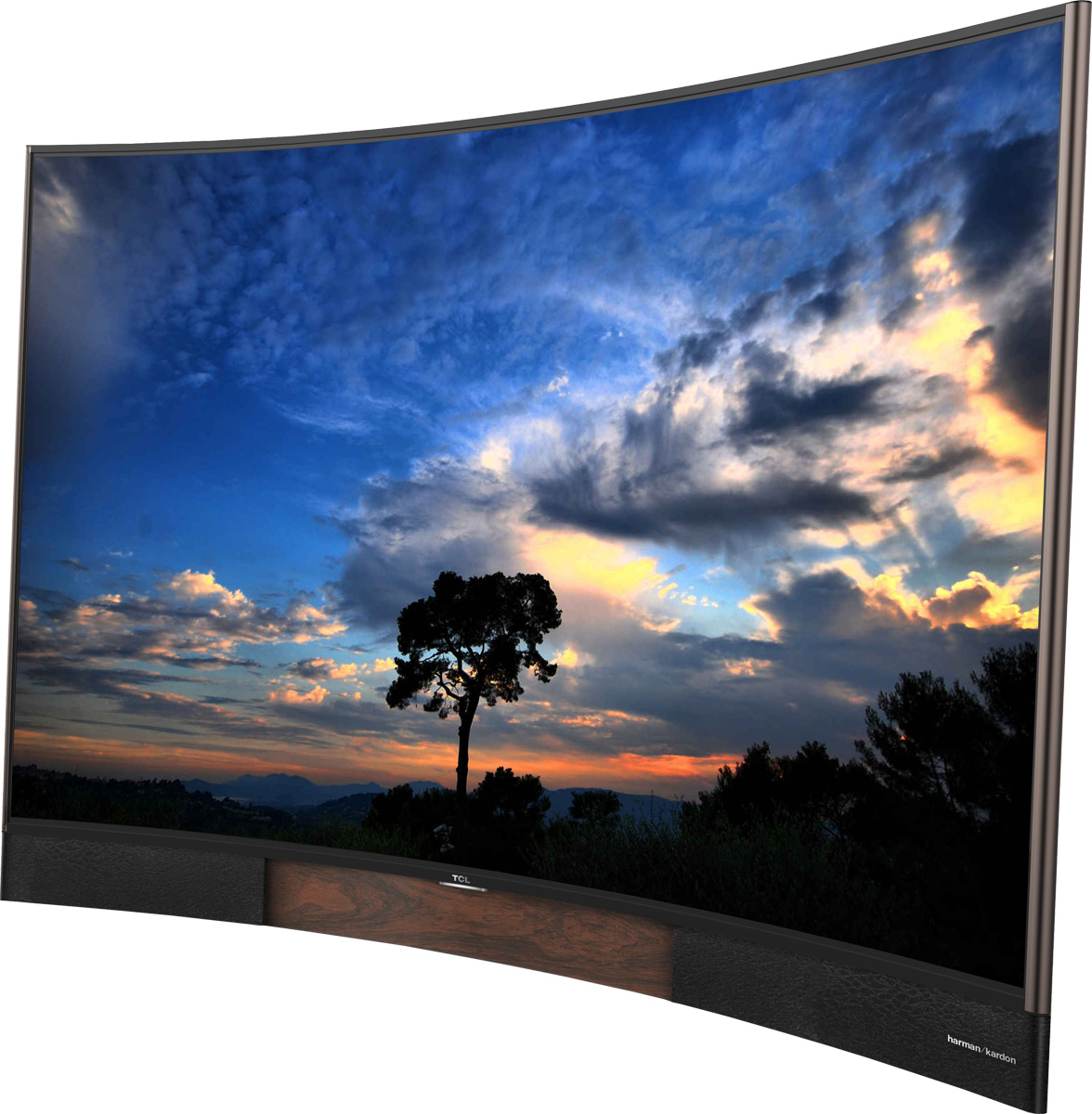 """Image of U65H8800CDS TCL 65"""" Curved UHD 3D Smart TV 2015 New"""