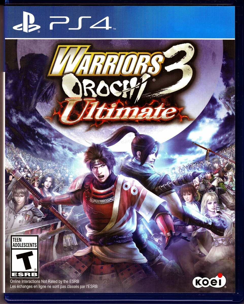 Warriors Orochi 3 World S End: Best Koei Warriors Orochi 3 Ultimate PS4 Playstation 4