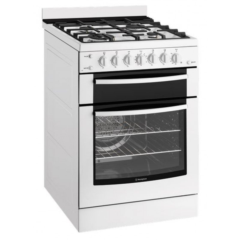 Image of Westinghouse 60cm Freestanding Gas Cooker - WFG617WALP