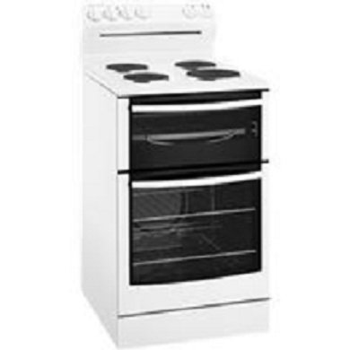 Image of Westinghouse - 54cm Freestanding Electric Cooker, Solid Cooktop, White