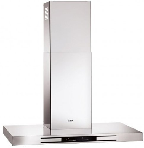 Image of AEG 90cm Stainless Steel Wall Canopy Rangehood with DirekTouch Controls - X99384MD01