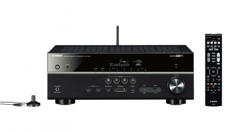 Best yamaha rxv481 receiver prices in australia getprice for Yamaha amplifier receiver