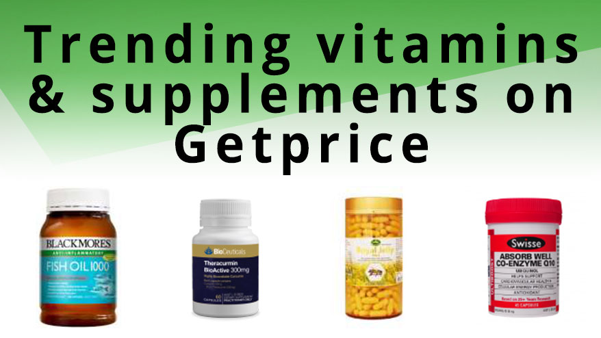Five trending vitamins and supplements