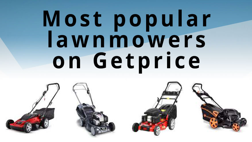Most popular lawnmowers in Australia