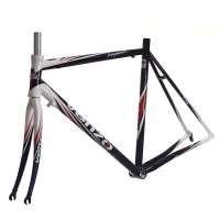 Venzo Road Bike Bicycle Racing 700c Alloy Frame 60cm