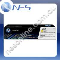 HP Genuine CE312A YELLOW Toner Cartridge for HP LaserJet Pro 100 color M175a/M175nw/LaserJet Pro 200 color M275nw/CP1025/CP1025nw (1K Yield) #126A