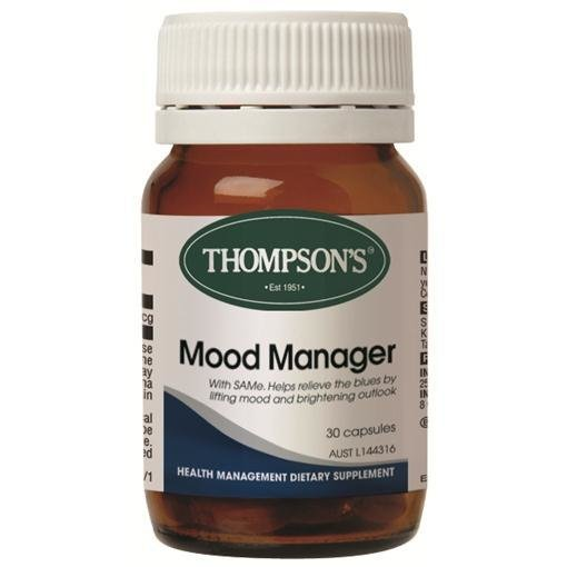 Image of Thompson's Mood Manager 60 Capsules