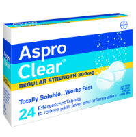 Aspro Clear Effervescent Tablets 60
