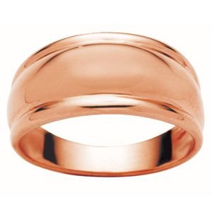 Image of Rose Gold Ring - Dome (R42748)