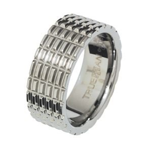 Image of Tungsten Ring - 81142R (81142R)