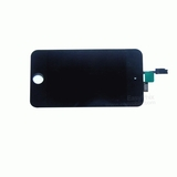 Image of LCD and Digitizer Touch Screen Assembly [Black] with Adhesive Tape for iPod Touch 4th