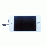 Image of LCD and Digitizer Touch Screen Assembly [White] with Adhesivefor iPod Touch 4th