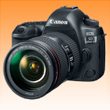 New Canon EOS 5D Mark IV with EF 24-105mm f/4L II USM Lens Kit (FREE INSURANCE + 1 YEAR AUSTRALIAN WARRANTY)