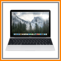 Apple MacBook 2015 MF865ZP/A 1.1GHz 512GB 12 inch Silver (PRIORITY DELIVERY)
