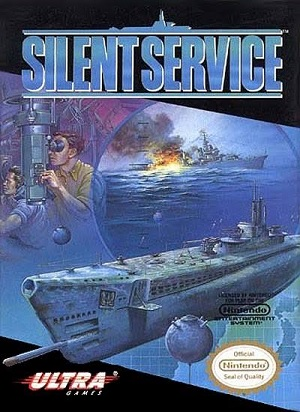 MicroProse Silent Service PC Game