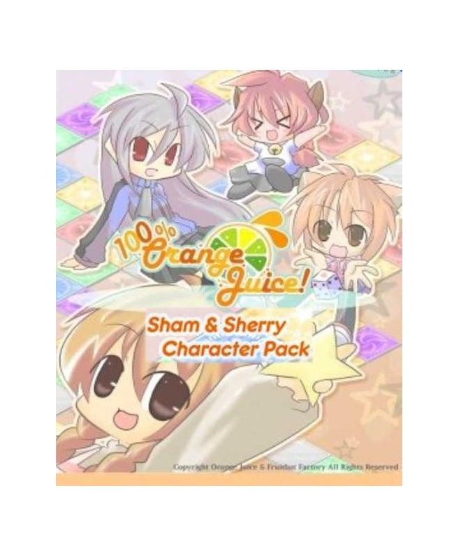 Fruitbat Factory 100 Percentage Orange Juice Sham And Sherry Character Pack PC Game